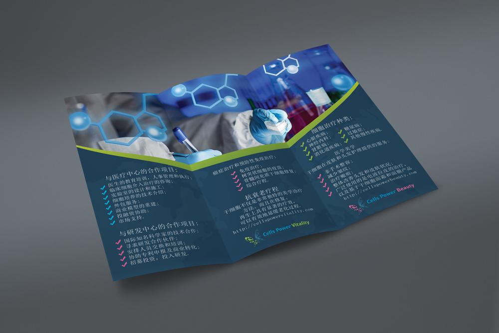 Буклеты для филиала Cells Power в Китае