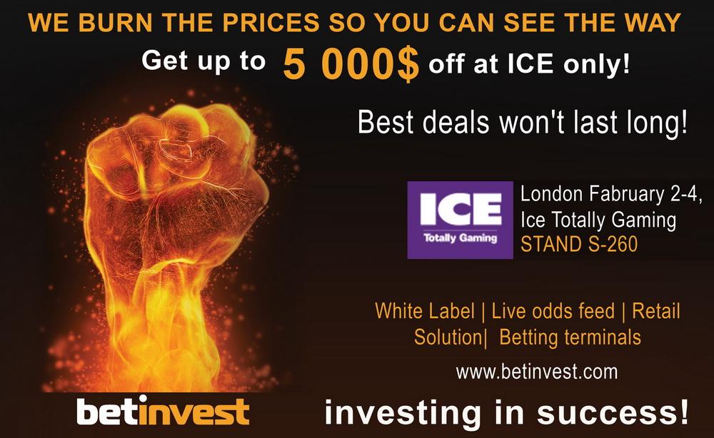 Рекламная компания для BetInvest в г. Лондон (Великобритания)