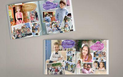 Выпускной альбом для детского сада Монтессори-сад